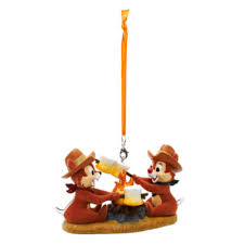 chip n dale hanging ornament