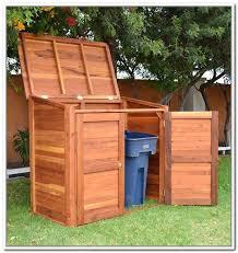 16 refuse storage shed garbage can shed trash shed outdoor trash