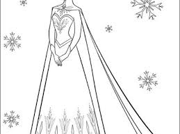 walt disney coloring pages queen elsa walt disney characters photo