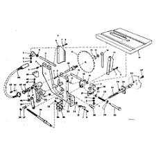 craftsman table saw parts model 113 craftsman model 113241680 saw table genuine parts