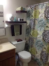 Small Bathroom Curtain Ideas Colors Small Bathroom And Budget Small Bathroom That Used To Have Carpet