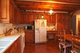 elegant small log cabin kitchens taste