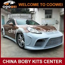 porsche panamera bodykit panamera fiberglass ms style wide car bumper kit for porsche