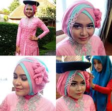 tutorial model jilbab untuk acara wisuda ッ 25 tutorial model hijab kebaya terupdate 2018 fashion muslim