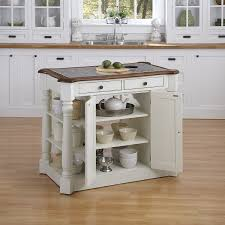 white kitchen island with drop leaf countertops home style kitchen island home styles americana