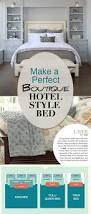 How To Make The Bed Make A Perfect Boutique Hotel Style Bed U2022 The Budget Decorator