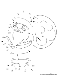 dot coloring pages christmas sack coloring pages hellokids com