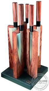 bloc de couteaux de cuisine professionnel set couteaux cuisine 5 couteaux de cuisine redwood le bloc