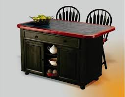 Distressed Black Kitchen Island Sunset Trading 3pc Antique Black Kitchen Island Set With Inlaid