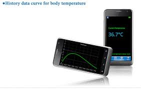 android thermometer 17 69 bluetooth lcd thermometer monitoring on android system