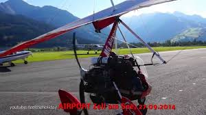airplane spotter ultralight aircraft sunshine mountains alps