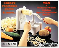 paderno cuisine spiral vegetable slicer free giveaway enter to win a paderno cuisine spiral