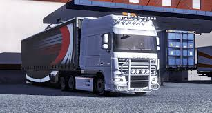 renault truck interior daf xf 105 interior tuning ets2 mod for european truck simulator