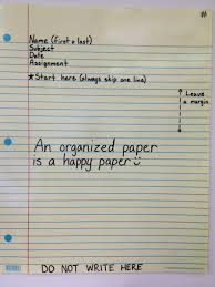 first grade lined writing paper proper heading 4th grade with mr baumbach