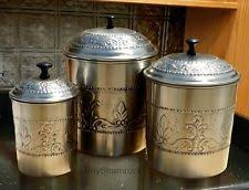 ebay kitchen canisters decorative kitchen canisters ebay