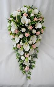 wedding flowers bouquet flowers silk calla bouquet silk wedding bouquets