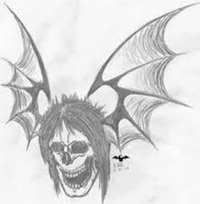Amazing Skull - amazing skull bat design tattoos book