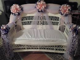 photo couples baby shower bench image
