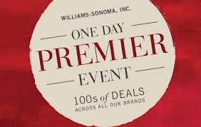 Williams Sonoma And Pottery Barn Williams Sonoma Premier Day Sale Event For One Day Only Setting