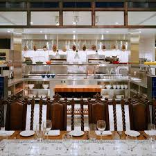 Kitchen Chef Table by Chefs Table At Brasserie Beck