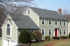exterior traditional exterior home design with white fiber cement
