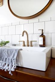 Brass Fixtures Bathroom Stylish And Functional Fixtures In A Modern Vintage Bathroom