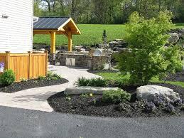 landscaping boulders millcreek design center valley pa