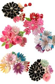 hair ornament heaven kanzashi by peachy pan bohaute
