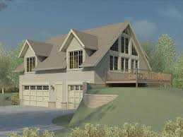 house plans for sloped lots carriage house plans carriage house plan for a sloping lot