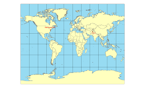 Map Projection James Antisdel Geography 7 Blog Lab 5 Map Projections