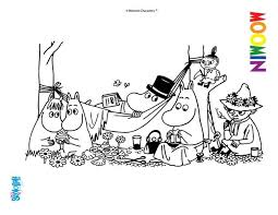moomin coloring pages 8 free printables of cartoon characters to