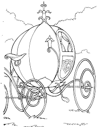 Keshik Belonged Cinderella Coloring Pages Disney Coloring