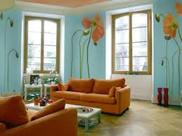 drawing room furniture drawing room wall orange colours combinations green brown bedroom