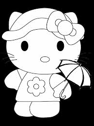 coloring pages kitty summerfree coloring pages kids