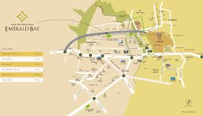 puri emerald bay in sector 104 gurgaon price location map