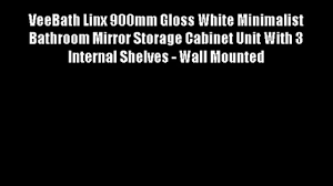 croydex 1200 mm arun tall pivoting mirror cabinet video dailymotion