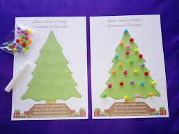 personalised activity countdown to tree baubles