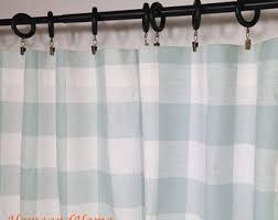 Navy Buffalo Check Curtains Buffalo Check Curtains Wine Teadyed Buffalo Check Tieback Curtain