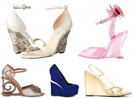 gold wedge shoes for wedding 42 best wedding wedges you can buy now
