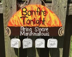 Fire Pit Signs by Custom Pet Signs Garden Stakes And Family By Lazyhoundworkshop