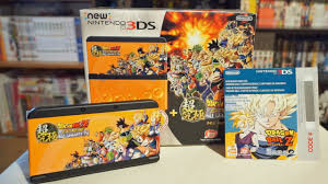 new nintedno 3ds xl black friday amazon new nintendo 3ds limited edition dragon ball z extreme butoden