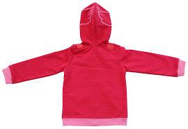 pj masks owlette red winged zip hoodie jacket costume girls sz