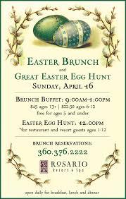 Easter Brunch Buffet by Easter Brunch Buffet U0026 Great Easter Egg Hunt San Juan Islands