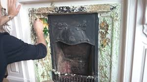 restoring a 114 year old fireplace to it u0027s former glory it had