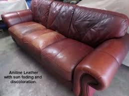 Leather Sofa Discoloration Leather Repair Testimonials Fibrenew Upstate
