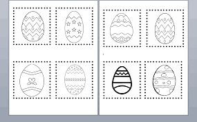 easter cutting worksheet images reverse search