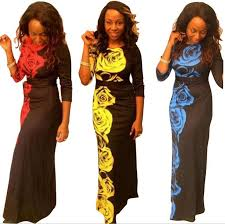 2017 summer traditional african clothing women africaine print