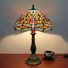 Dragonfly Light Fixture Vintage Dragonfly Table L Home Deco Lighting Fixture Deco Glass