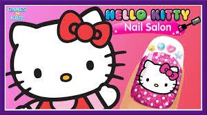 hello kitty nail salon fun girls play nail care color