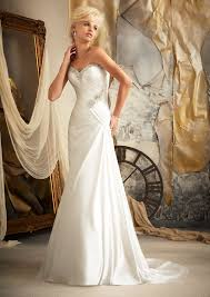 ivory wedding dresses morilee bridal soft satin embellished with swarovski crystals
